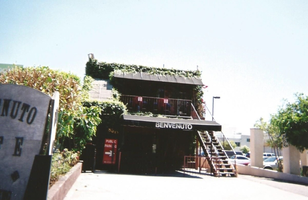 The Italian restaurant where L.A. Woman was recorded before spaghetti was being dished out.