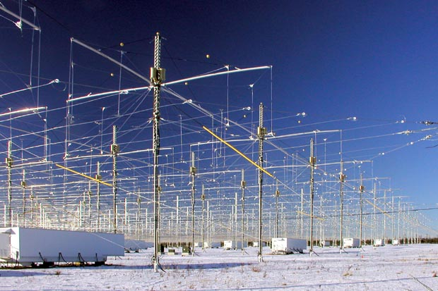 Project HAARP. Not your grandma's TV antenna.