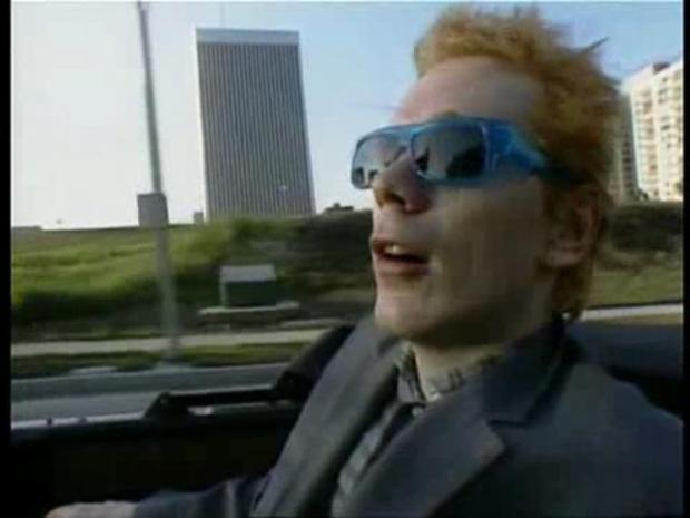 Johnny Rotten Rotting on...