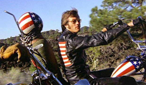 I wouldn't mind Peter Fonda sitting on me either.